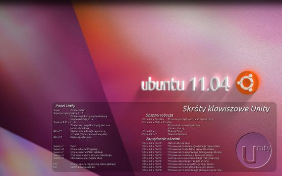 Unity Shortcuts Wallpaper v.2 by gandiusz