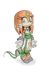 Tikal the MAIA - Sonic Boom by Cylent-Nite