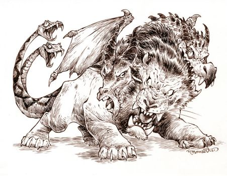 #inktober- October 8th by RobbVision
