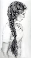Girl With a Braid by missmuffin90