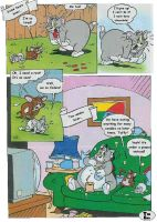 Tom and Jerry Fat Comic 05 by MCsaurus