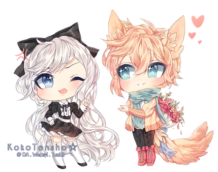 Comm: Mulberry and Avery by KokoTensho