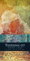 Textures 07 - Stock Pack by kuschelirmel-stock