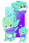 CE.Bob the chao by Sanddy273