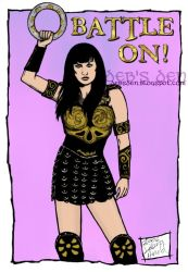 Battle On by Xena-Fan-Club