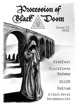 Procession of Black Doom VI cover layout by red20