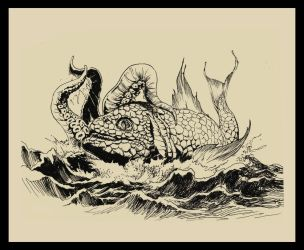 Battle of Sea Creatures by Sentinelite