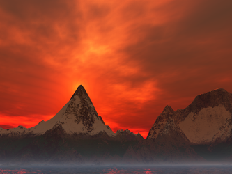Fire Mountain by highmystica