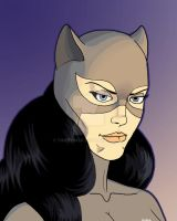 Catwoman for Jen by Timetower