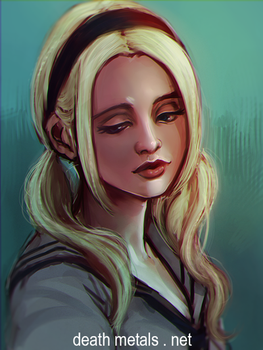 speed paint - babydoll by anephilimrising