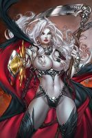 CC LadyDeath Echoes1'notty', pencils: P.Pantalena by sinhalite