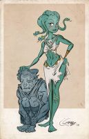 Medusa by MattCarberry