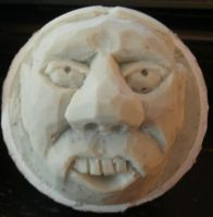 Carved Golfball by Des804