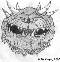 Cacodemon by Coopersville