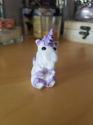 Fimo unicorn. by MadameButterfly94