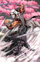 Snake Eyes vs Storm Shadow by 1314