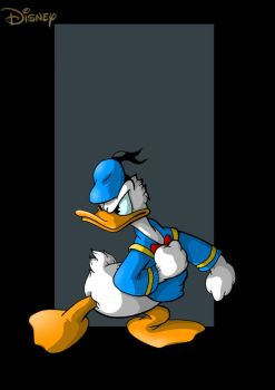 donald duck by nightwing1975