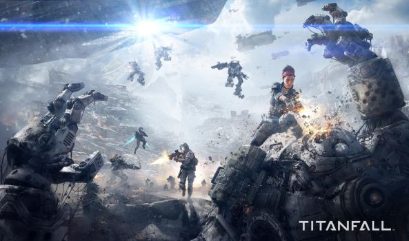 Titanfall (Game Informer Cover) by 2buiArt
