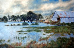 Farmhouse after the Flood by Frank-Jaspers