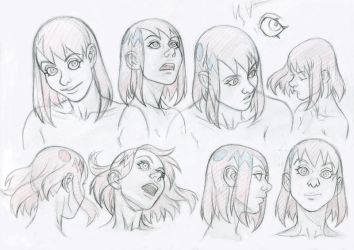 Cassidy faces by bordon