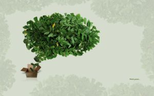 Think green 1920x1200 by Cechas