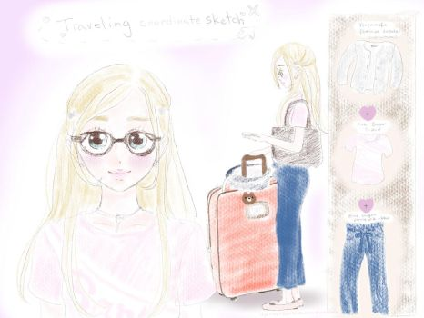 Traveling Coord! by TeddyBearWitch