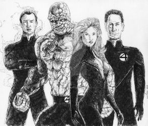 FANTASTIC FOUR by McMeowingtons