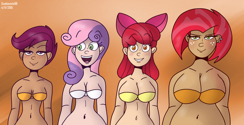 Cutie Mark Cleveagers by SB99stuff