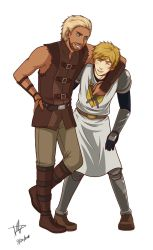 Super Points: Arthur and Bjorn by BurningArtist