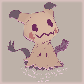 Welcome, Mimikyu by AutobotTesla