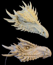 Dragon WIP, Day 3 by cermaith