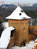 Vladych tower in the Lubart castle(Lutsk) by ArthurGautama