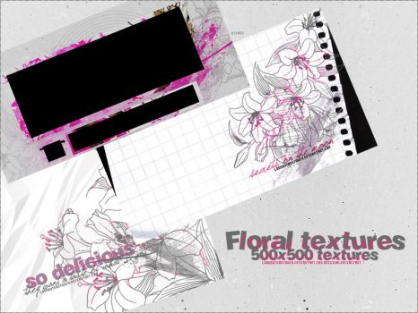 03 Floral Textures by Lookbutdontouch