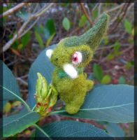 Kibago - Axew - FELTED by TheHarley