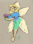 Washed-out Faerie by Le-Smittee