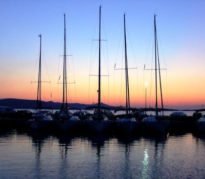 Evening in the Harbor by JohnnyLine