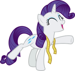 Rarity - Brava!! by Comeha