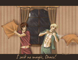 I said no magic! -Redrawn- by Isi-Angelwings