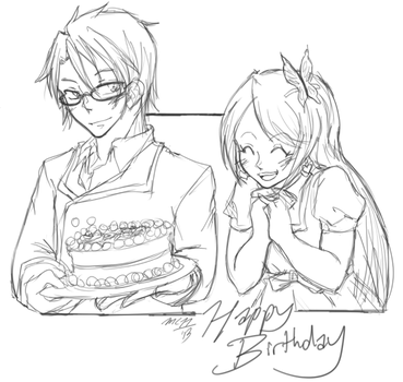 ReQ: HBD by Mega-chan11