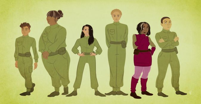 lineup - the ladies by cesca-specs