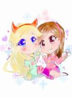 Star Butterfly and Mabel Pines by JanAala