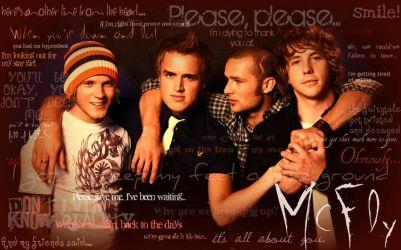 McFly Lyric Wallpaper by Sam-x-Frank