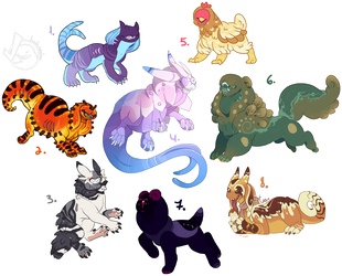 CLOSED  - POINTS ONLY Guest leech adopts by occultic