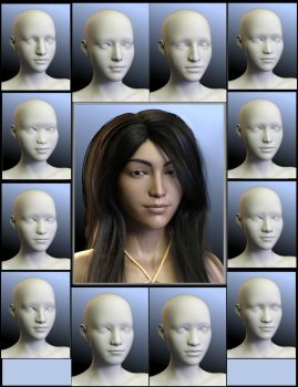 Sneak preview: SY Faces of Asia Genesis 8 Female by SickleYield