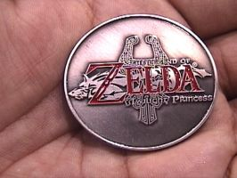 Zelda Coin: Front side by Gallagon