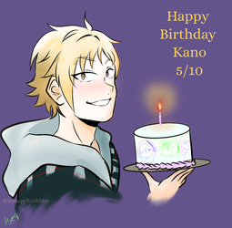 Kano bday by SnoopyScribbles