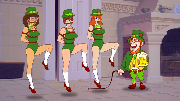 Daphne Velma and Madelyn Dance Irish Jig by VictorZulu