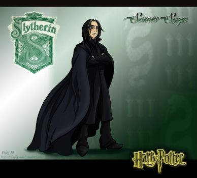 Snape by Belegilgalad