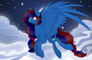 Gift to my dear freind Living Color by Cloud-Fly