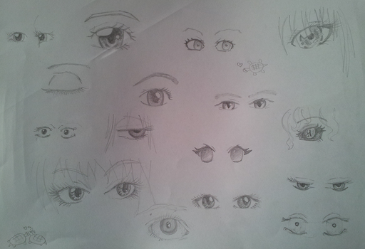 Anime eyes by DeviantArtDebil